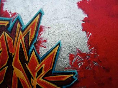 Red Fonts Graffiti Styles