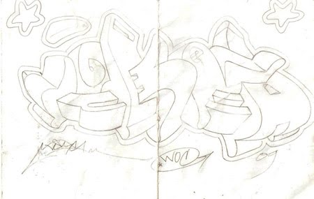 3d graffiti sketches. 3d Graffiti Sketch.