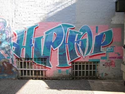 Hip Hop Graffiti History on walls