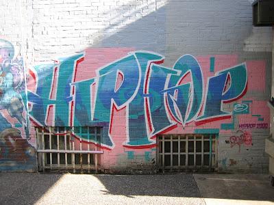 Hip Hop Graffiti History on walls