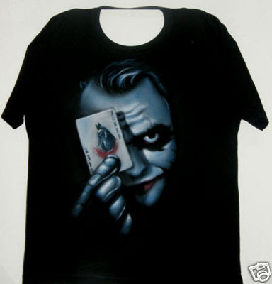 Joker Airbrush Custom T-shirt
