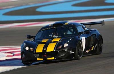 Sport Car Lotus Sport Exige GT3 New car