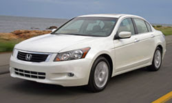 Honda Accord EX V6 White Color