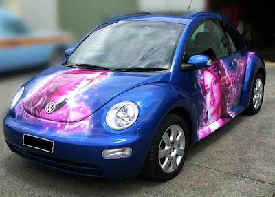 awesome car airbrush paint
