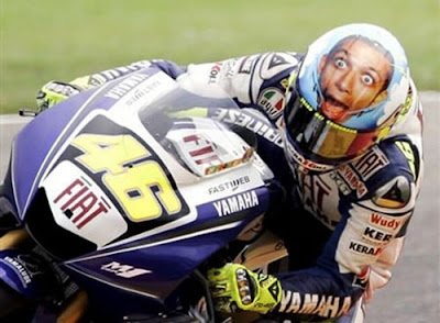 Valentino Rossi Cool Airbrushed Helmets