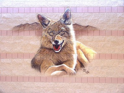 Wolf Airbrush Art Designs
