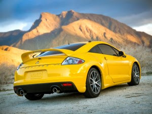 mitsubishi eclipse coupe 2010 back