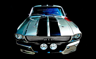 muscle car wallpaper mustang 60s gt