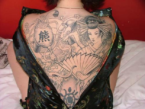 tattoo ngentot : Asian Japanese Dragon Tatttoos Gallery