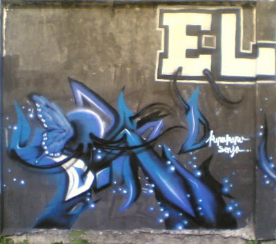 Graffiti Alphabet Letters Arrow  Butterfly Designs