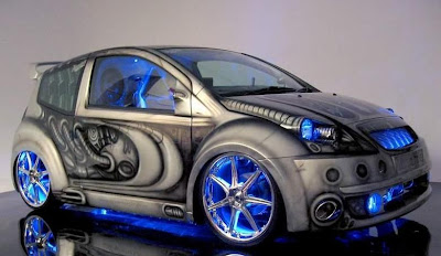 Cool Cars Airbrush Modification