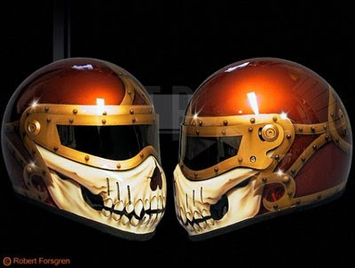 airbrush helmet amazing designs