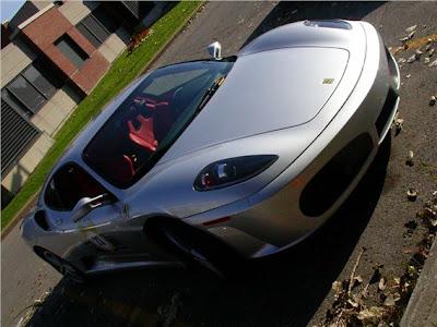Silver Ferrari F430 Pictures 2