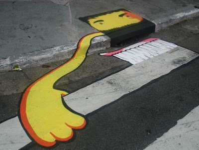 storm drain graffiti art