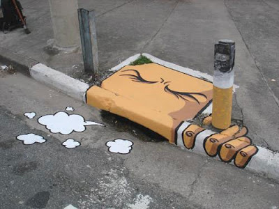 storm drain graffiti designs