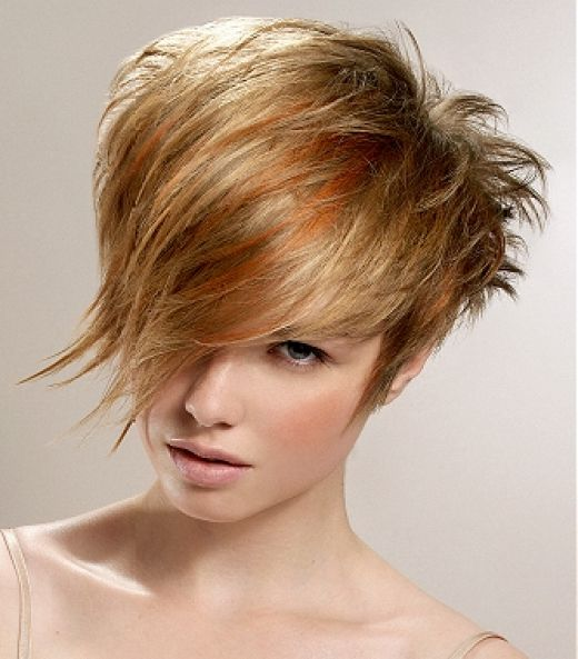 Image of Short Hairstyles For Older Women With Thin Hair