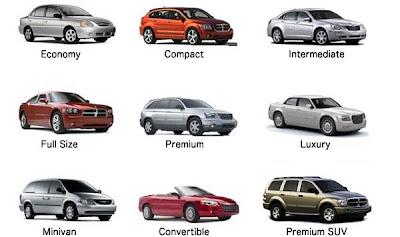 Choose Rental Car Fleet
