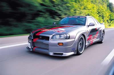 Nissan Car Blitz Skyline GT-R