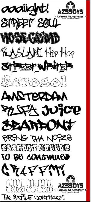 Sketch graffiti alphabets with pink color. Bubble style graffiti fonts.