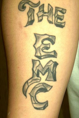 the emc tribal alphabet tattoo designs