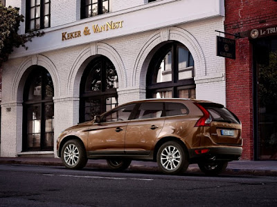Volvo XC60 SUV Car Back Side