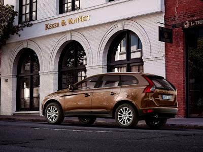 Volvo XC60 SUV Car Back Side