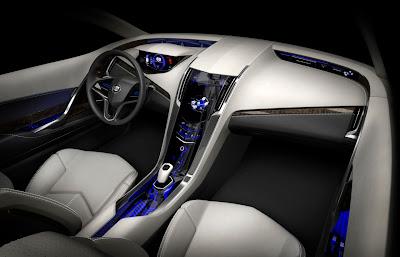 2009 Cadillac Converj Concept Interior