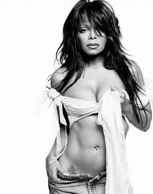 Janet Jackson Tattoo Lower Front Tattoo