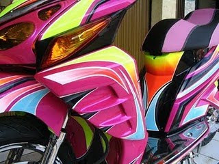 HONDA VARIO Full Body Airbrush Graphic 3