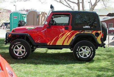 Jeep wrangler Airbrush