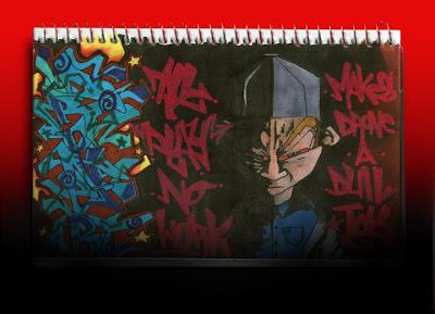 Graffiti murals vandal design 3