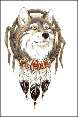 Excellent Tattoo Wolf Tribal