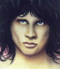 Jim Morrison Airbrush Designs