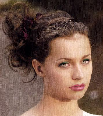 curly hair updos 2010. pictures Short hair updos-Updo