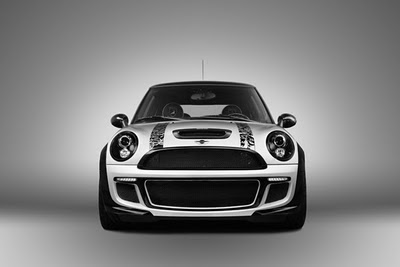 Mini Cooper Car Tribal Airbrush 4