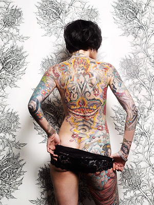 Awesome Women Tattoo Art Painting 1