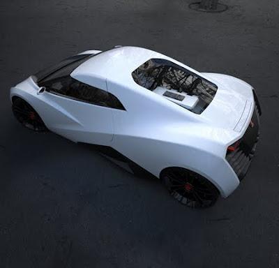 2011 Honda RA X Concept Sports Car 4