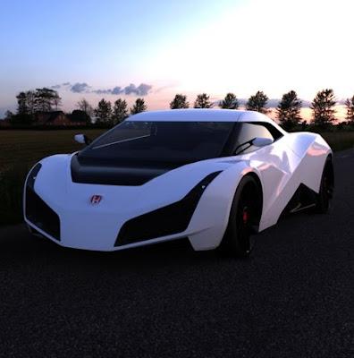 2011 Honda RA X Concept Sports Car 1