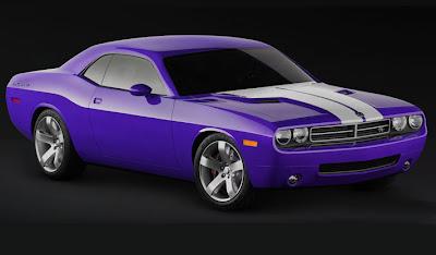 Fast Car Dodge Challenger SRT8 392 5
