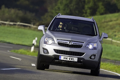 2011 Vauxhall Antara Facelift Turing Photo