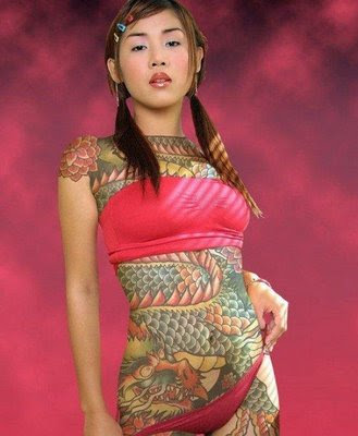 Labels: chinese women tattoo, dragon tattoo, female tattoo, gangsta tattoo