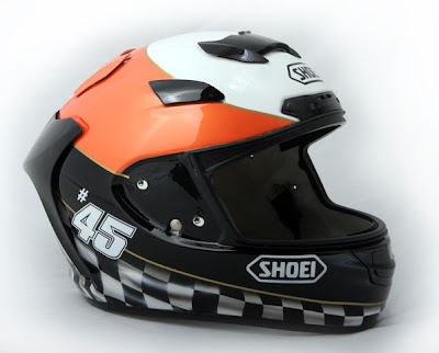 Martin Bauer's Helmet SHOEI Airbrushed Designs 2