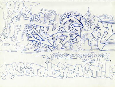 Draw Graffiti Alphabets With Arrow Letters Design 3
