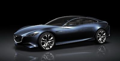Mazda Shinari Supercar Concept 1