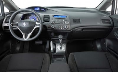 Honda Civic Hybrid Silver Pictures 4