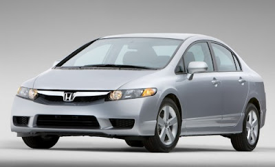 Honda Civic Hybrid Silver Pictures 1