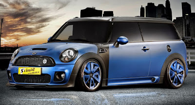 2011 Schmidt Revolution MINI Clubman Street Worker 1
