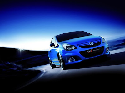 2011 Vauxhall Corsa VXR Blue Color