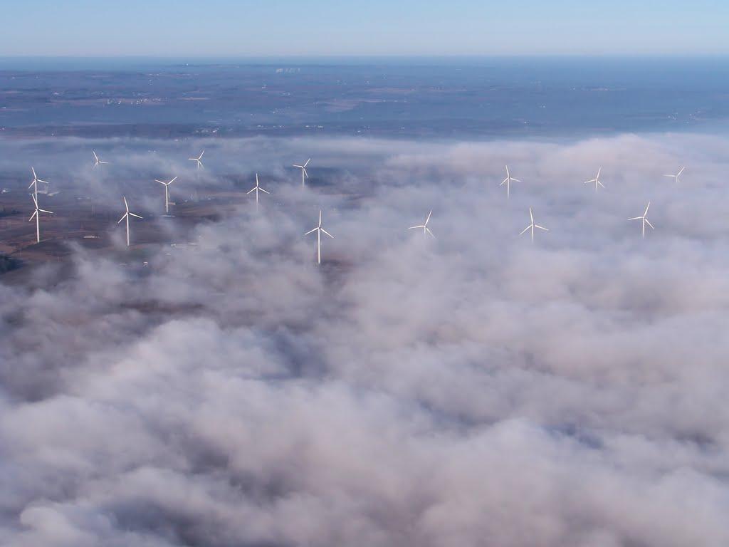 Photographic Logbook Fog Turbines