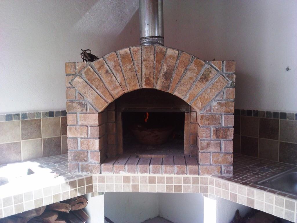 Estreno del horno de le a - Como hacer pizza en horno de lena ...